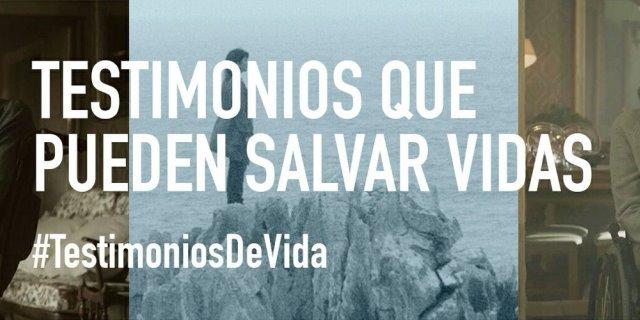 Imagen promocional de Ministro del Interior presentando #TestimoniosDeVida