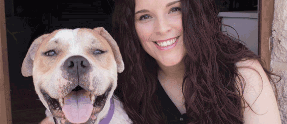 perro adoptado ama de nuevo