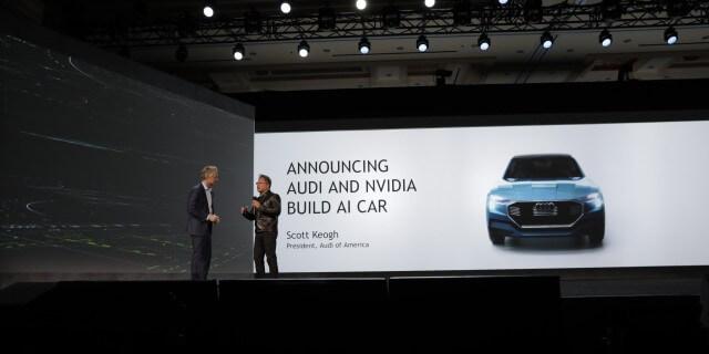NVIDIA Audi presentación coches inteligentes