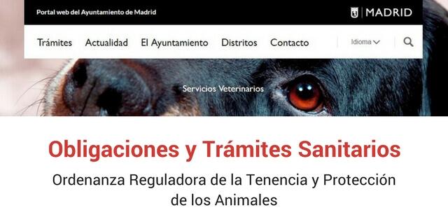 Madrid obliga a todos los perros a tener seguro