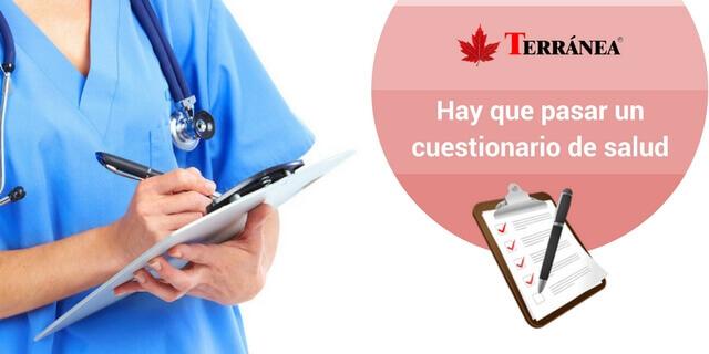 cuestionario salud