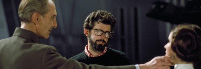 LEIA CGI Peter Cushing