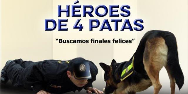 """El trabajo voluntario en 'Héroes de 4 Patas' de los componentes de """"Héroes de 4 patas"""" tiene como objetivo el conseguirles un hogar de acogida a los perros."""