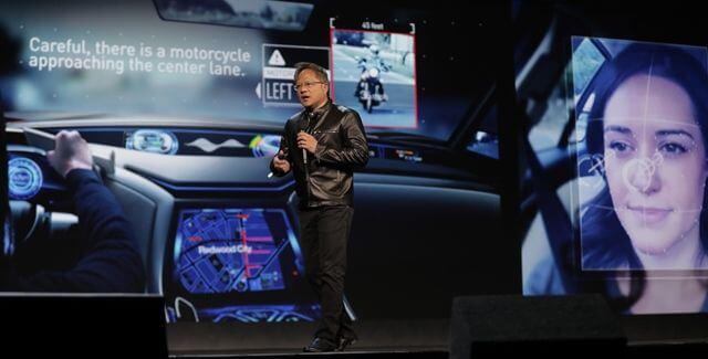 IA automóviles NVIDIA