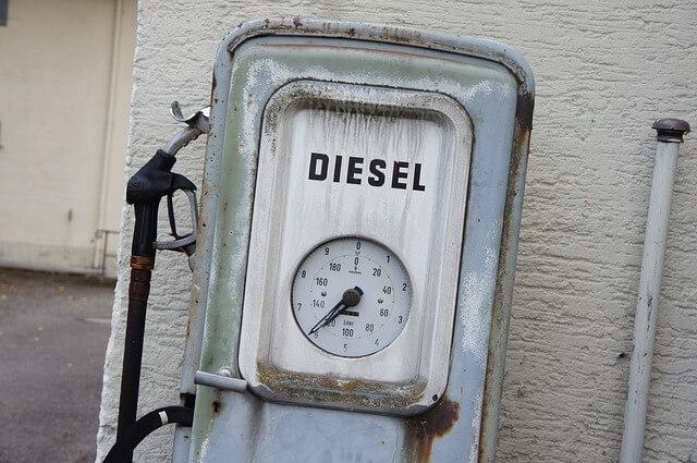 diesel viejo contaminante