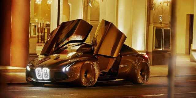 Coche BMW eléctrico muestra de la renovación tecnológica de la marca