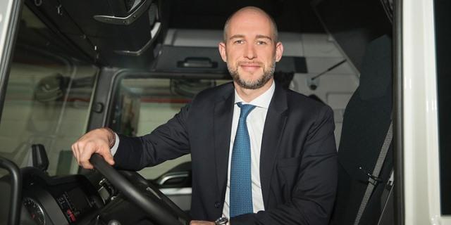Marcus Gossen director general de camiones MAN España Iberia Portugal