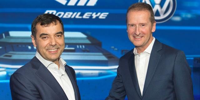 VolksWagen y mobileye conduccion autonoma