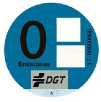 Etiqueta medioambiental Cero emisiones
