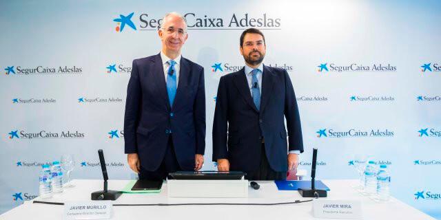Javier Mira y Javier Murillo, de SegurCaixa Adeslas
