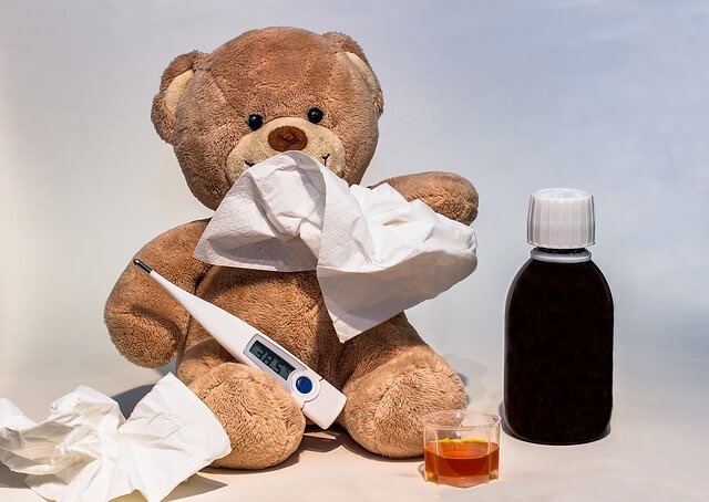 oso peluche regalo para niño hospitalizado