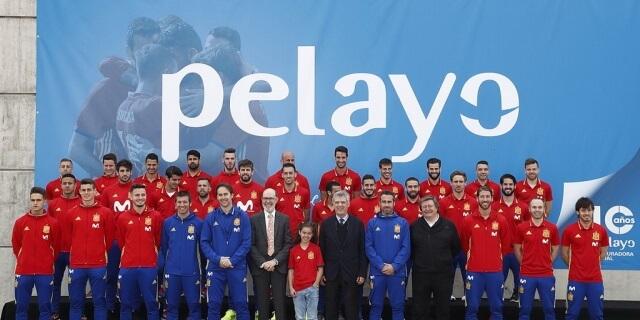 La Selección Española de Fútbol continuará siendo patrocinada por Pelayo.