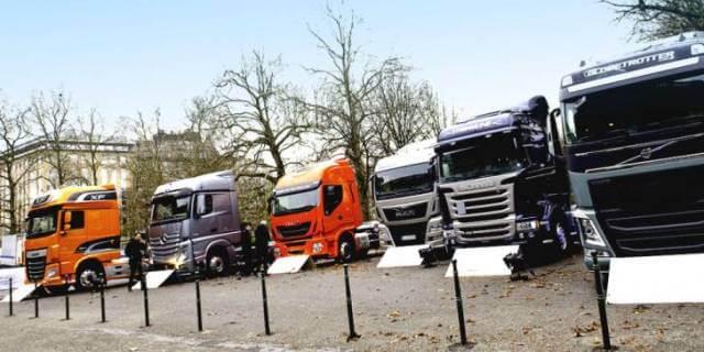 vehiculos industriales nuevos vendidos en enero y febrero de 2017
