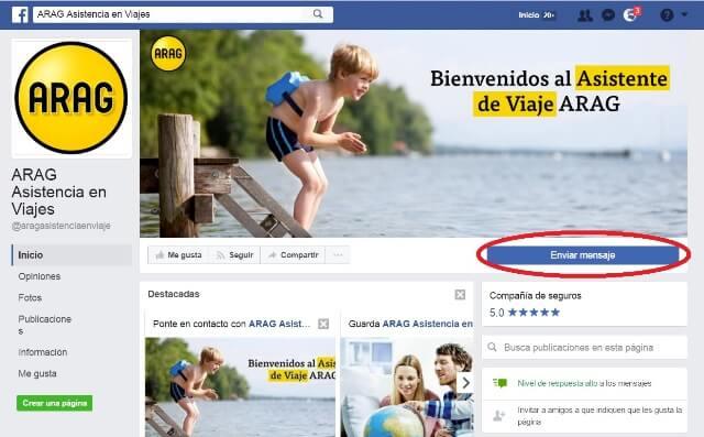 facebook de arag viajes