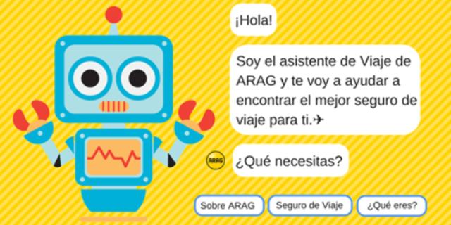 nuevo chatbot de ARAG para contratar seguros de viaje