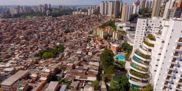Favela de São Paulo (Foto: Fundación MAPFRE)