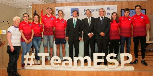 equipo de promesas paralímpicas españolas