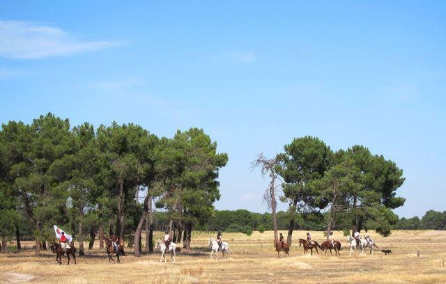 En Castilla y León disfrutaremos de variadas rutas a caballo (Foto: Siente Castilla y León).