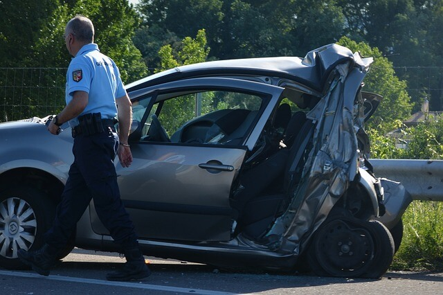 Conviene mantener la calma tras un accidente.