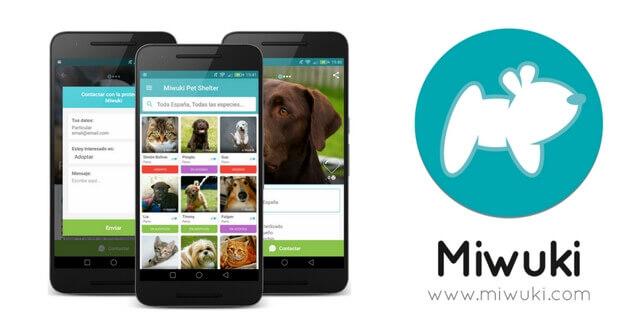 aplicacion movil adopcion mascotas