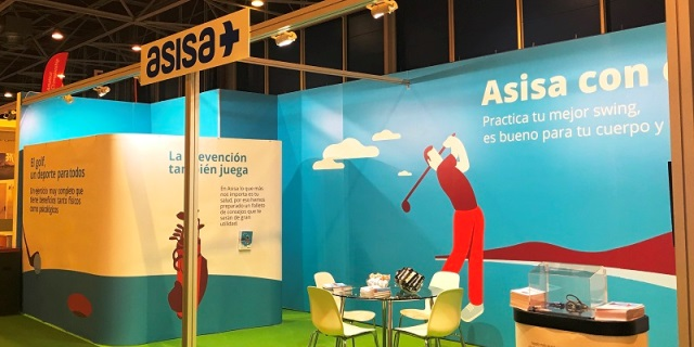 ASISA contará con un espacio en IFEMA como patrocinador principal de Unigolf (Foto: ASISA).