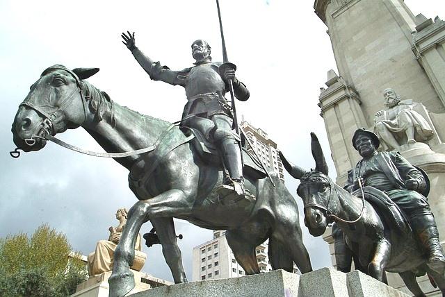 Rocinante, el caballo del famoso hidalgo Don Quijote de la Mancha