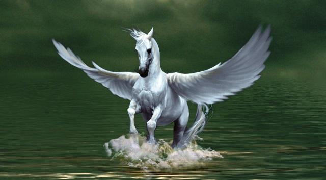 caballo famoso: Pegaso, el caballo de los dioses