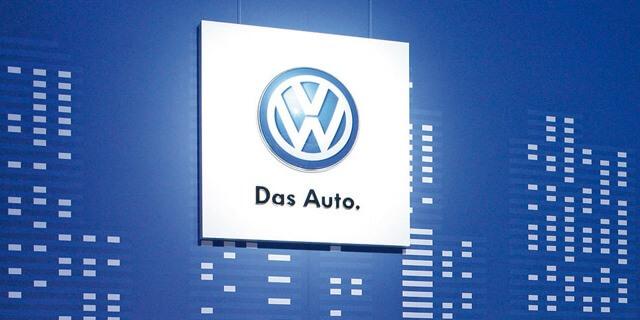 logotipo volkswagen Das Auto.