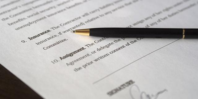 prima del seguro: contrato tipo de póliza de seguros