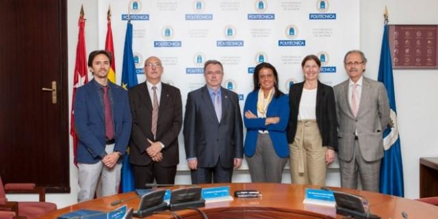 La Fundación Sanitas y la Universidad Politécnica firmaron el acuerdo (Foto: Sanitas).