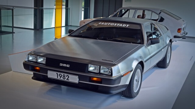De Lorean DMC 12 de Regreso al Futuro