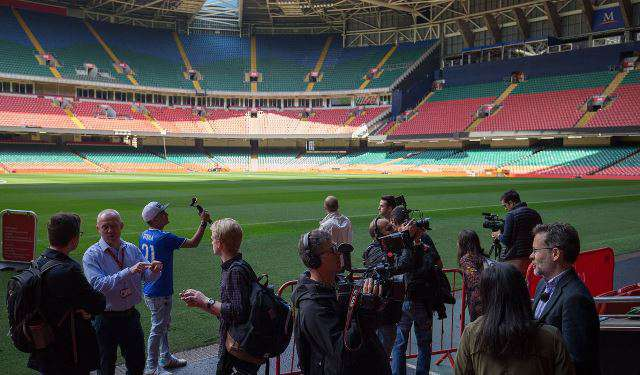 Foto: Millenium Stadium.