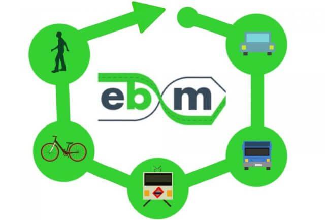 ir en bici al trabajo - imagen de EBxM