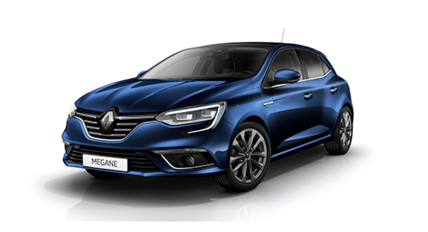 Modelo Renault Megane.