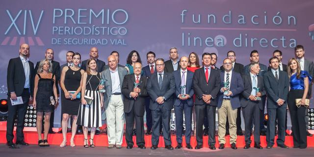 Finalistas de la XIV edición de los Premios Periodísticos de Seguridad Vial