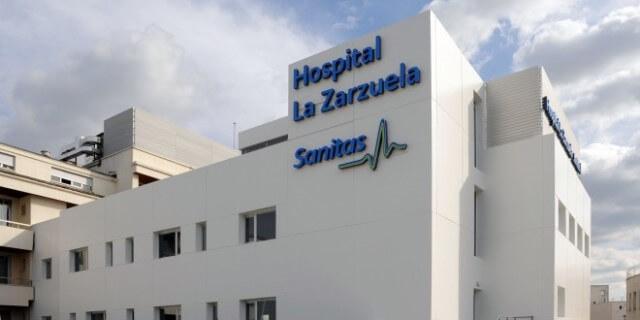 Edificio del Hospital Universitario Sanitas La Zarzuela