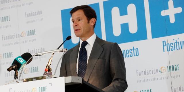 JUAN RAMON PLÁ nuevo presidente entrante de BIPAR y vicepresidente de ADECOSE en un acto de INADE