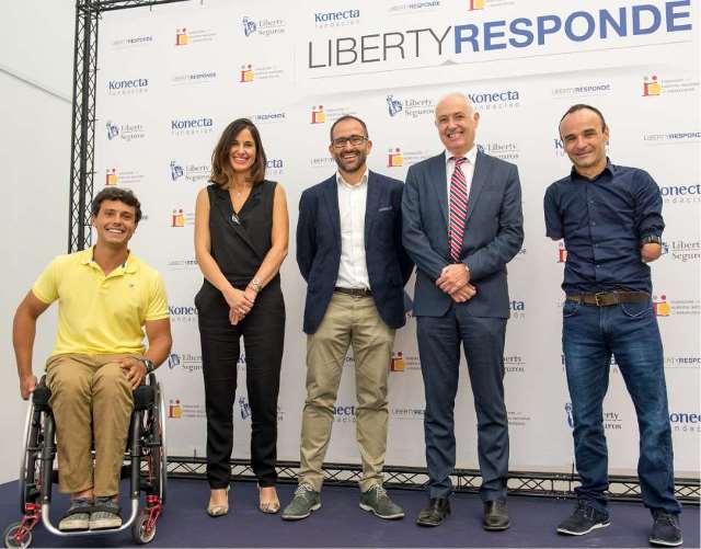 Imagen de la presentación de la renovación del servicio Liberty Responde
