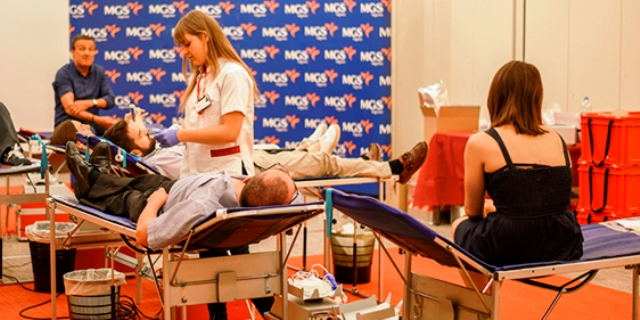 MGS Seguros donación de sangre 2017