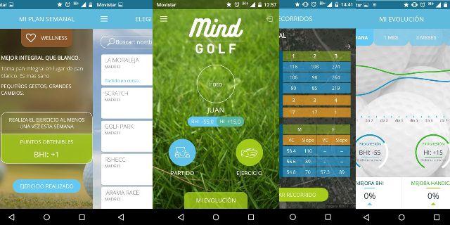 MIND GOLF la nueva app para golfistas de REALE