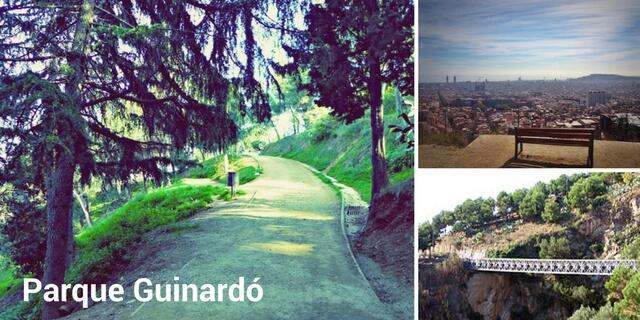 Parque Guinardó Barcelona admite perros