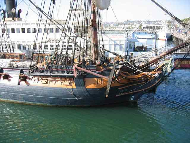 El HMS Rose, réplica del Surprise en Master and Commander (Foto: modelships.de)