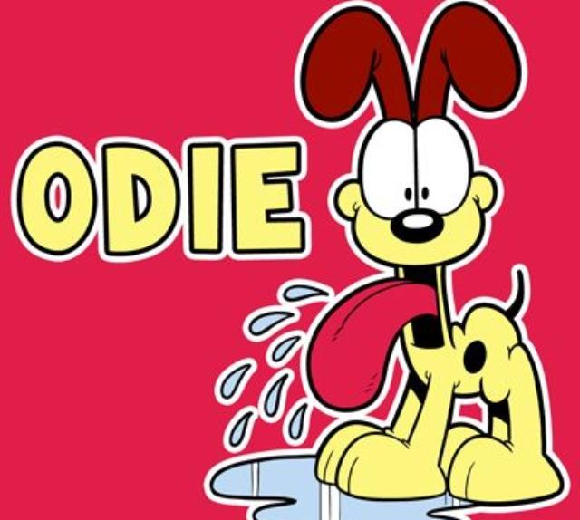 Odie, el inseparable amigo de Garfield