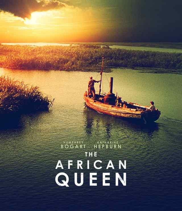 Póster de la película 'La Reina de África'