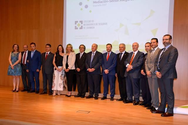 Personajes destacados durante el segundo encuentro mediadores de Granada 2017