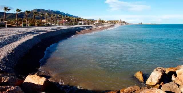 Playa Platjola en Alcanar (Tarragona)