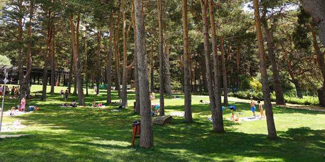 Piscina Natural de Cercedilla para refrescarse en verano.