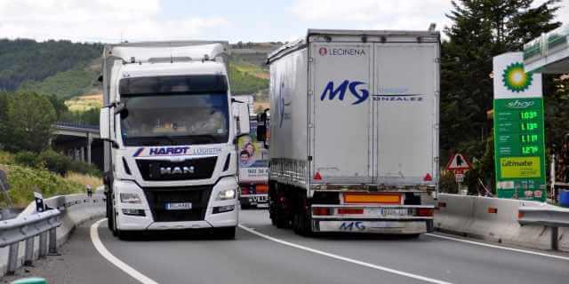 autónomos mandan en el transporte de mercancías español