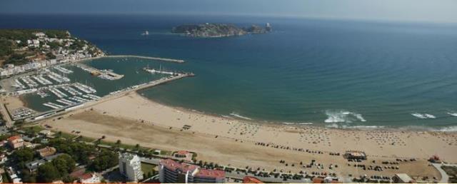 Playa L'Estartit en Girona