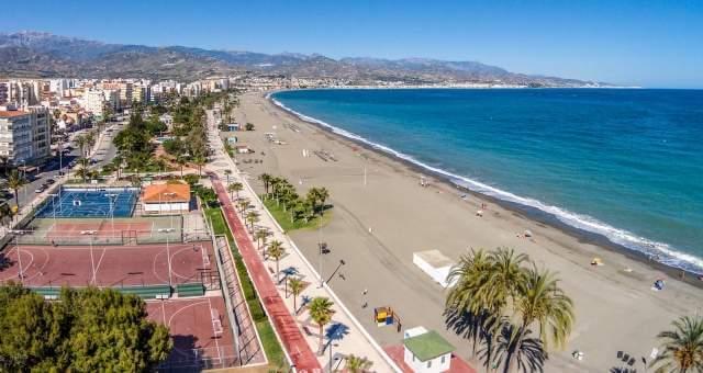 Playa Canina de Torre del Mar